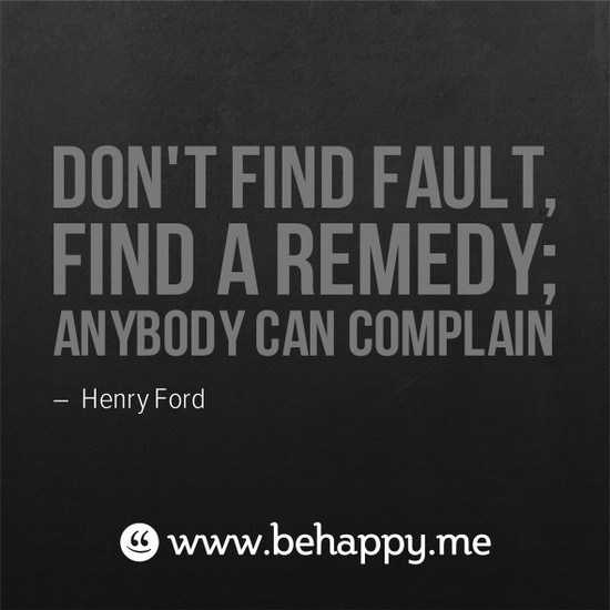 Be the Remedy!